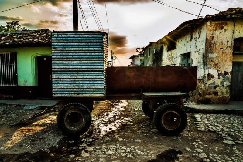 Transport isn't yet super advanced in Trinidad, adding to its charm. Photo by Julio Gaggia.