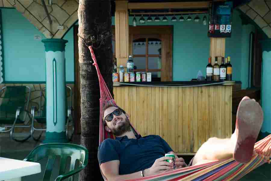A little beach bar lounging is a must -do activity in Cuba
