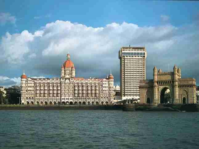 Taj Mahal Palace and the Gateway of India