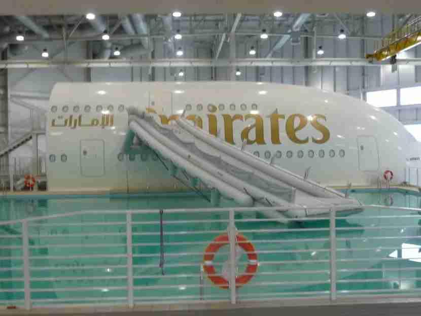 emirates-water-evac-flight-attendant-training-simulator-