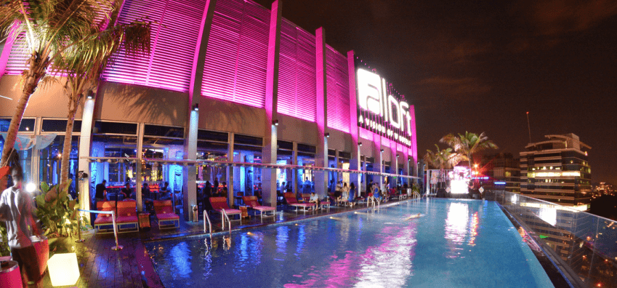 The rooftop pool at the Aloft in Kuala Lumpur makes the hotel feel like a steal at just 4,000 points per night!