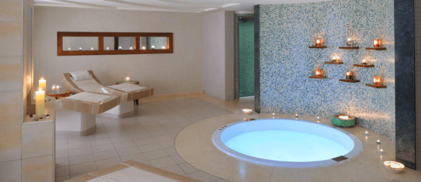 The Retreat Spa is located on the fourth floor of Tower One at the Grosvenor House, Dubai