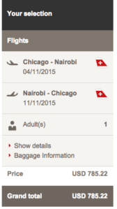 You can also book from Chicago-Nbo 785.