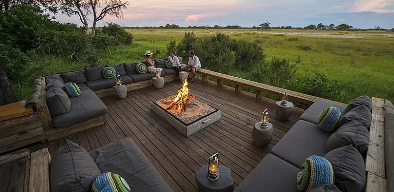 Botswana has also seen a boom in luxury safari lodges like Vumbura Plains in the Okavango Delta. Photo courtesy of Vumbura Plains.