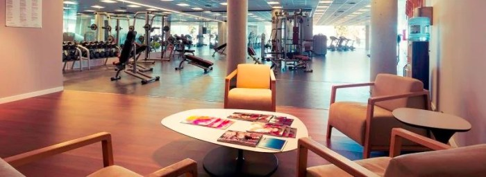 The W Barcelona FIT offers over 3,000 square-feet of workout space