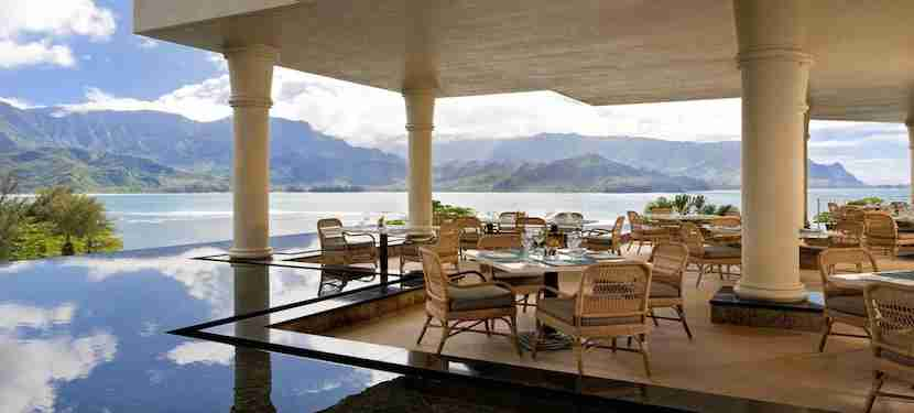 The St. Regis Princeville will set you back 30,000 Starpoints for a free night or 15,000 Starpoints + $275.