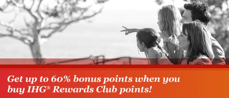 IHG offers tiered bonus for purchased points