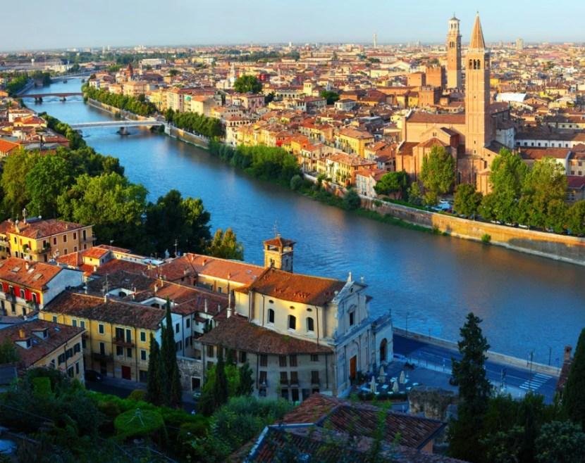 Win a trip to Verona, Italy.  Photo courtesy of Shutterstock.