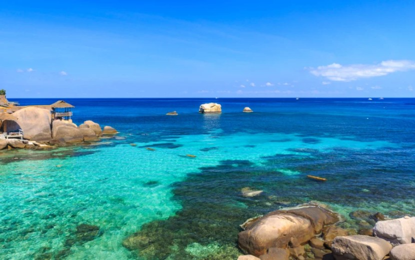 Koh Tao is one of the best spots in the world to get PADI certified, or simply relax on the beach. Photo courtesy of Shutterstock.