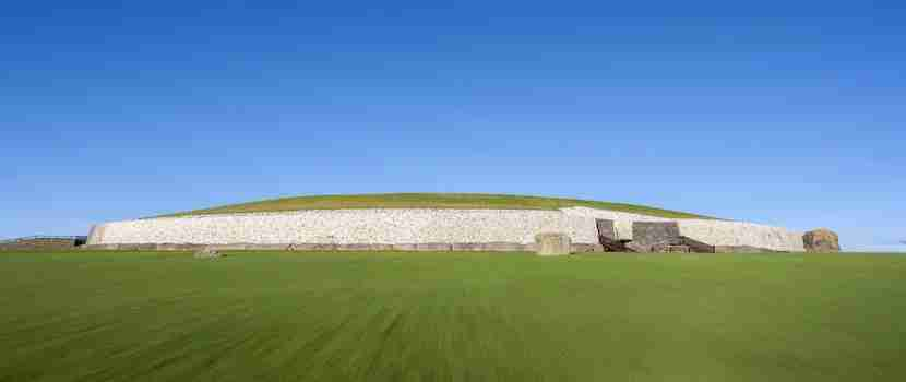Newgrange is a UNESCO World Heritage Site older than Stonehenge. Photo courtesy of Shutterstock.