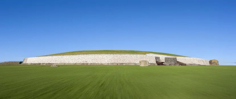 Newgrange is a UNESCO World Heritage Site older than Stonehenge. Photo courtesy of Shutterstock.