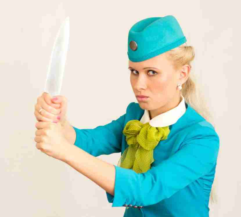 It takes these 8 types of passengers to send our TPG flight-attendant insider over the (knife