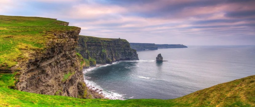 The Cliffs of Moher are an hour drive from Choice's Clarion hotel in Limmerick. Photo courtesy of Shutterstock.