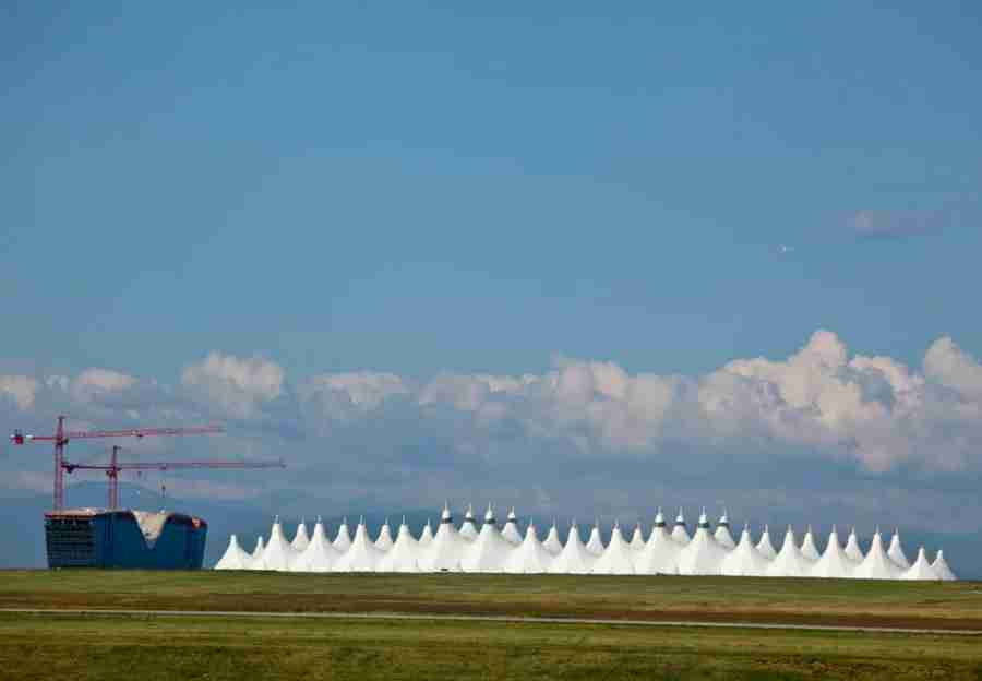 The white peaks of DIA