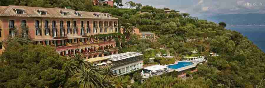 The beautiful Belmond Splendido hotel in Portofino