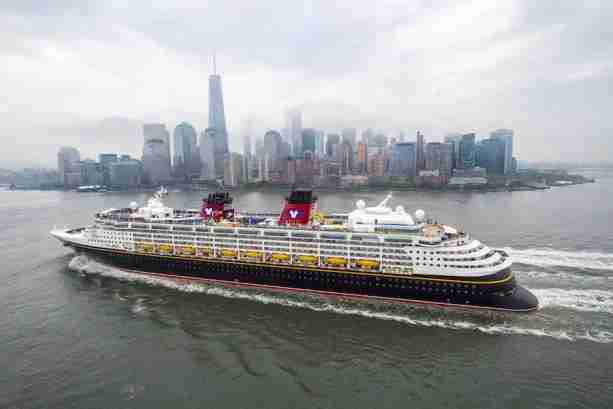 Disney will operate some cruise routes out of NYC starting in 2016
