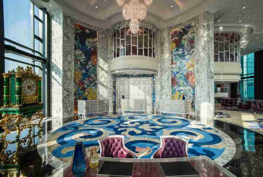 Like the rest of the hotel, the Reverie Saigon