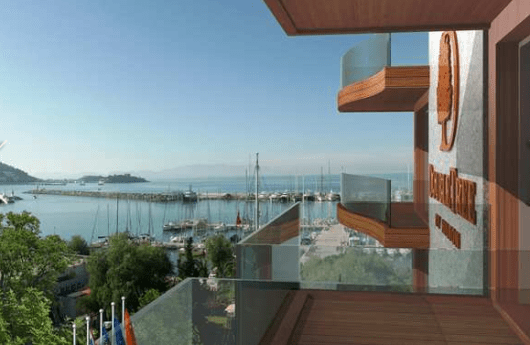 The DoubleTree Kusadasi would be a good base to explore Ephesus and the House of Virgin Mary
