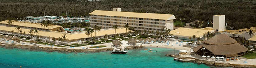 Enjoy a variety of amenities when you redeem your points at the InterContinental in Cozumel, Mexico.