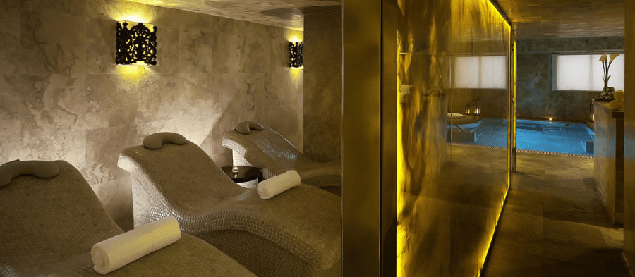 Relaxation starts from the moment you set foot in the Palacio del Inka Spa