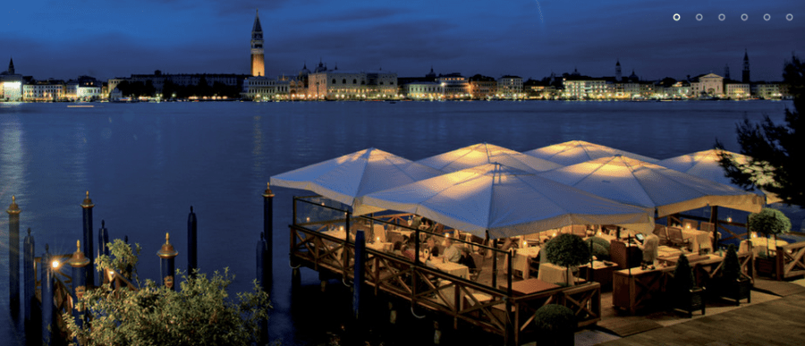 The Belmond Hotel Cipriani in Venice is just one of the properties included in the Luxury Hotel & Resort Collection