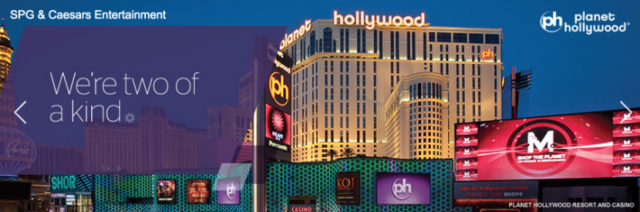 Starwood and Caesars Partnership
