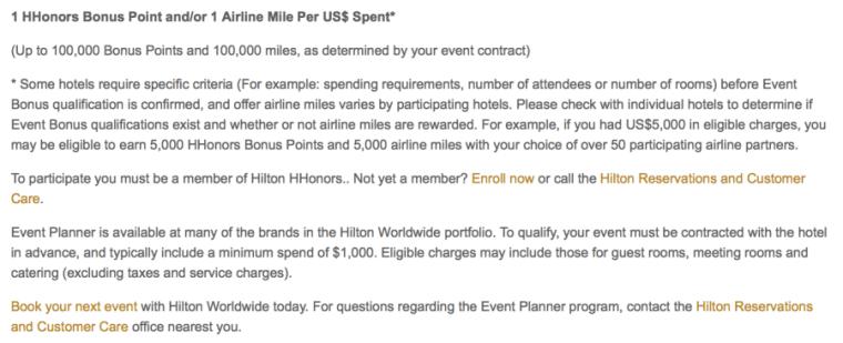 Hilton HHonors promotions