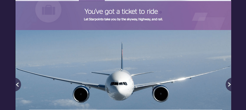You can transfer Starpoints to over 30 airline partners.