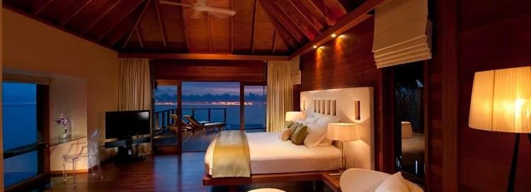 I redeemed my free nights at the Conrad Maldives.