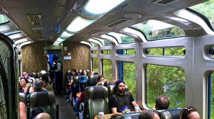 All aboard Peru Rail