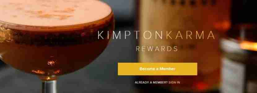 How does the Kimpton Karma Rewards program work?