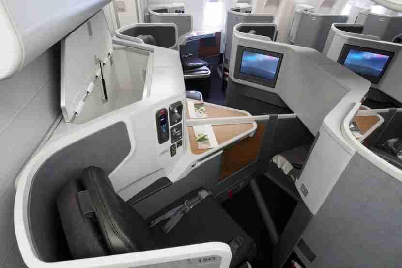 Even center seats are private — you
