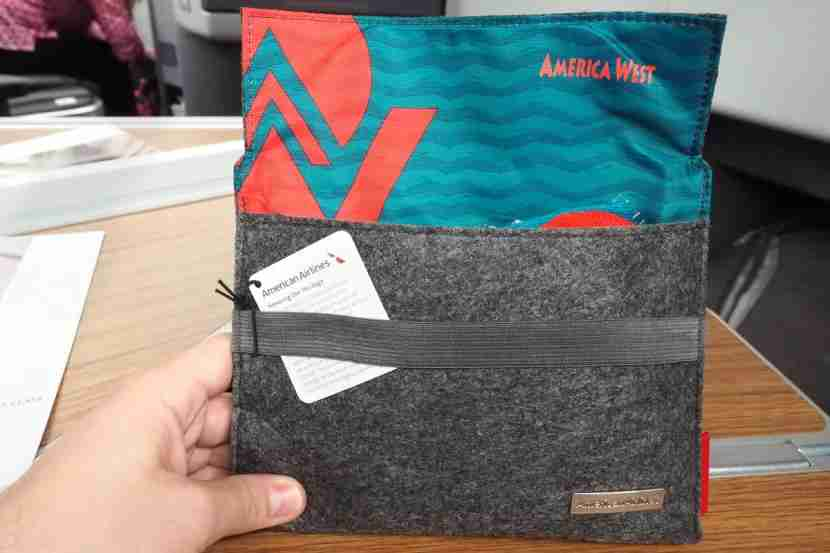 AA is currently offering themed amenity kits.