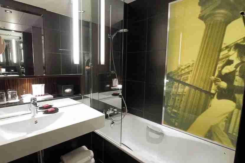 En-suite bathroom.