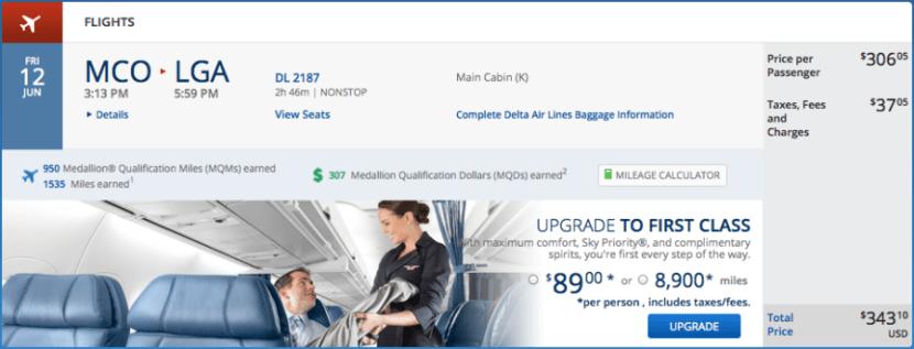 Delta upgrade