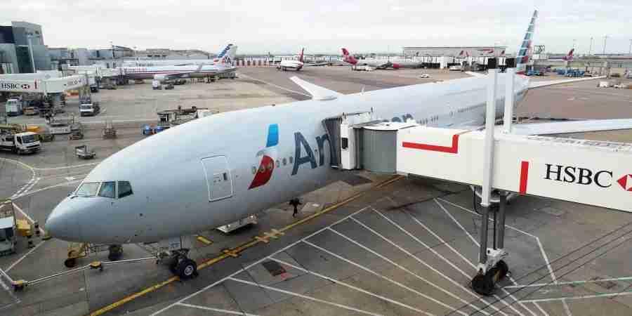 The last AA 777-300ER I