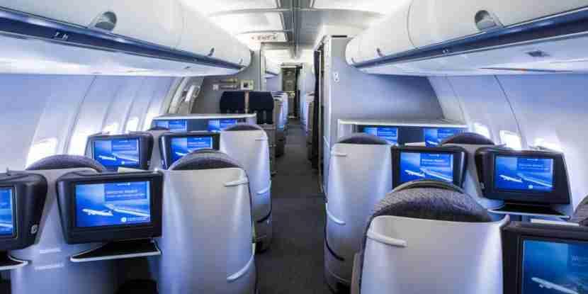 United p.s. 757 cabin.