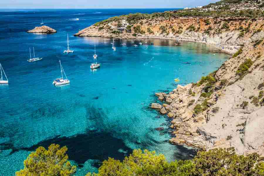 The Spanish island of Ibiza is drop-dead gorgeous. Photo courtesy of Shutterstock.