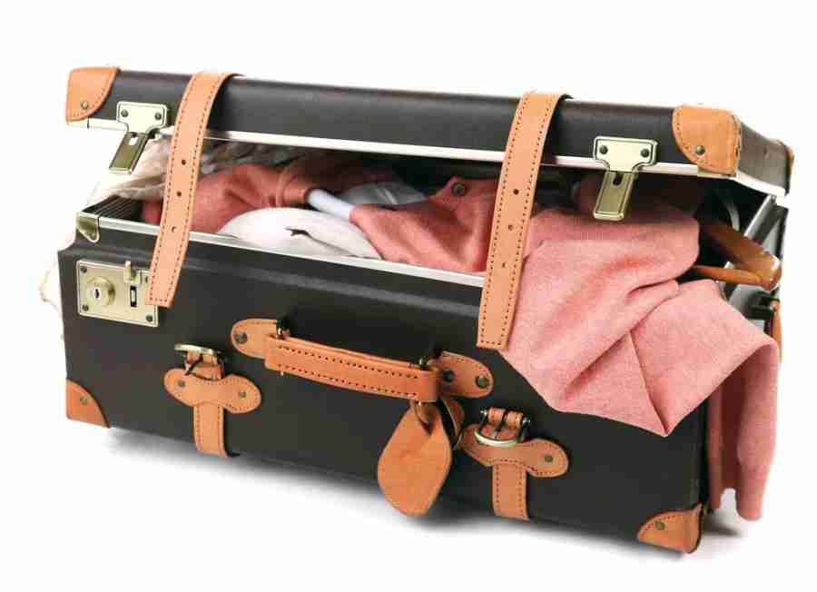 Too much junk in the trunk? Time to invest in some lightweight luggage. Photo courtesy of Shutterstock.