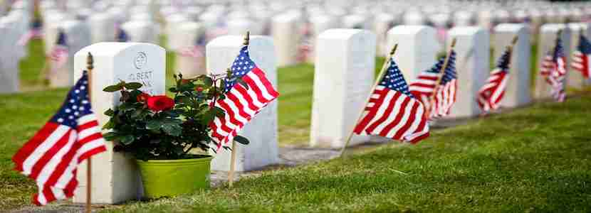 The current Memorial Day holiday began in 1971. Photo Courtesy of Shutterstock.