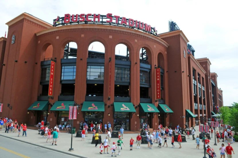 Busch Stadium in St. Louis, Missouri. Photo courtesy of the stadium.