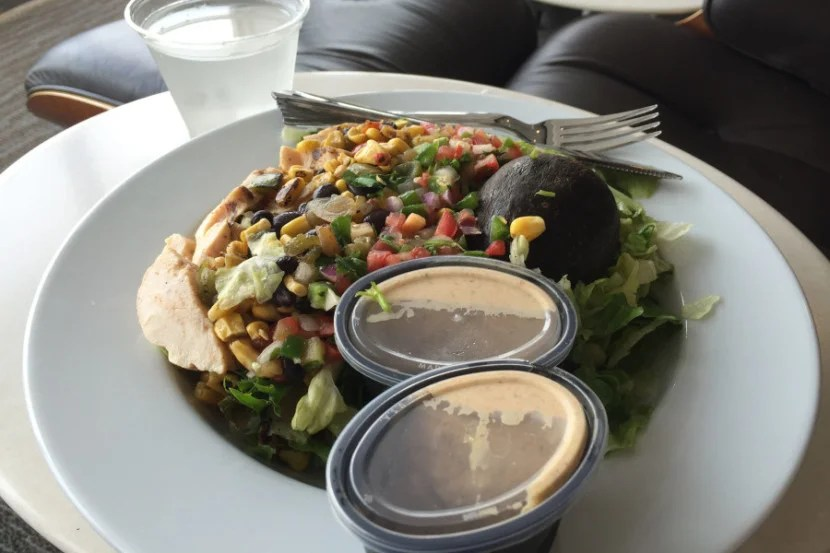 Unfortunately, this Southwest Chicken Salad disappointed.