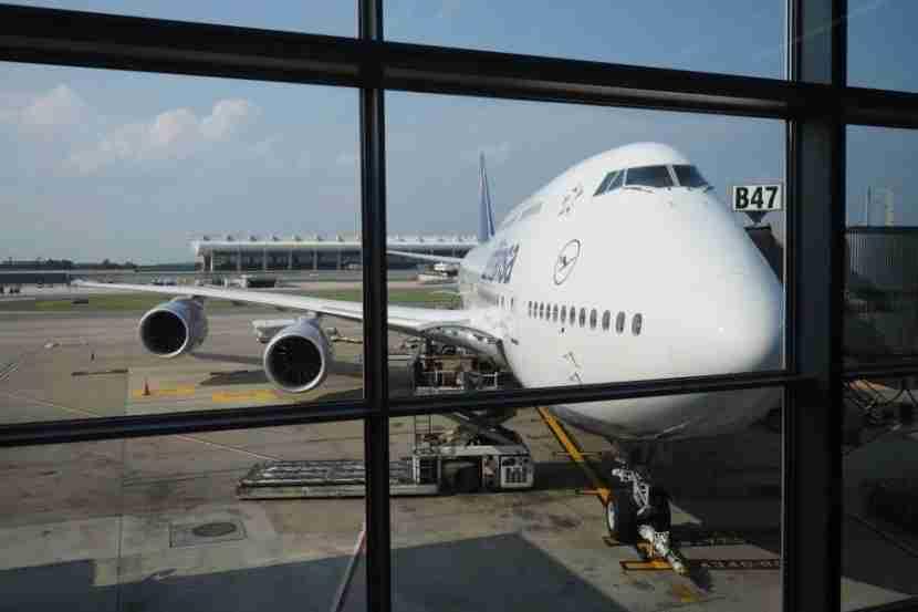 The beautiful 747-8i I flew.
