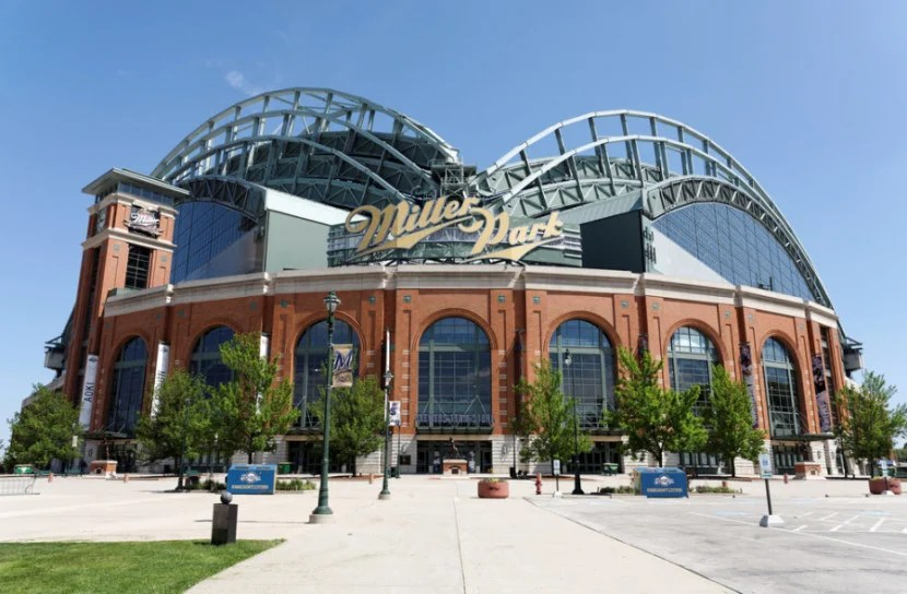 Miller Park in Milwaukee, Wisconsin. Photo courtesy of the stadium.