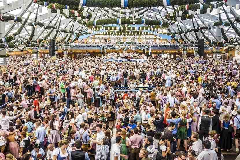 Head to Munich for Oktoberfest. Photo courtesy of Shutterstock.