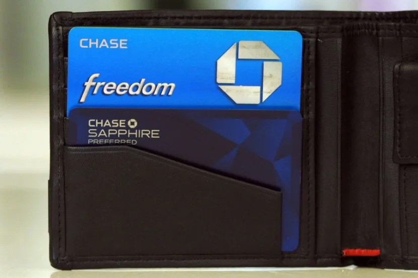 Chase cards like the Sapphire Preferred and Freedom are staying put in my wallet.
