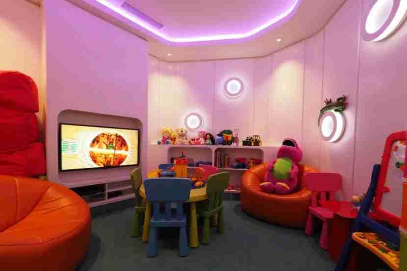 Family playroom at Etihad