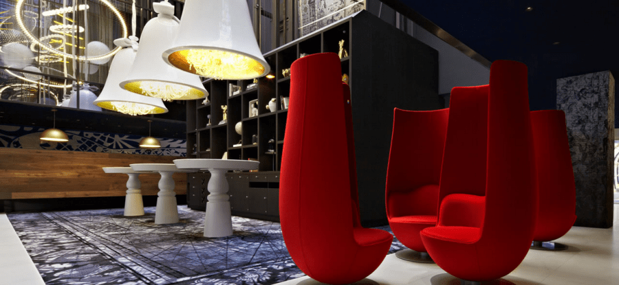 Finding transportation options to the Andaz Amsterdam (and its tulip chairs in the lobby) was a breeze thanks to its detailed website.