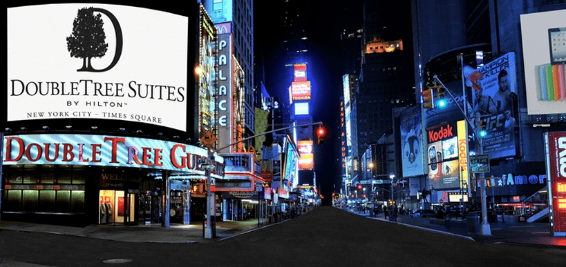 The DoubleTree Suites gives you easy access to Times Square and many top New York sites.