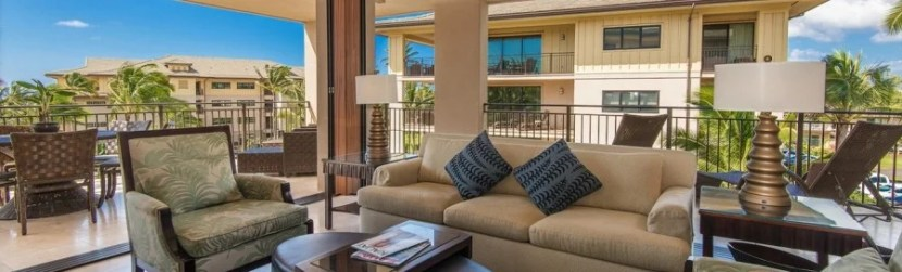 The property boosts the largest villas on Kauai.